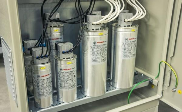 Автоматичні установки компенсації реактивної потужності 100 кВАр і 200 кВАр тепер складські позиції!