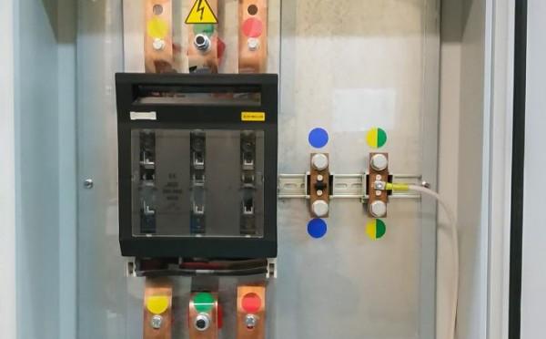 Щит для підключення силового обладнання